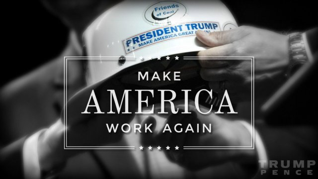 President Trump to make America great.